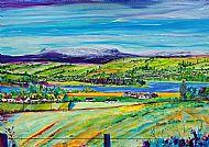 Ben Wyvis and Dingwall from Alcaig Framed Fine Art Print
