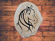 Original Painted Horse Plaque