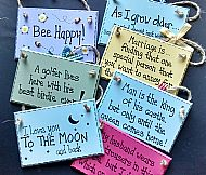 Painted Wall Plaques
