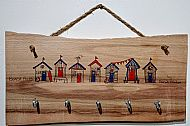 Beach Huts with Hooks