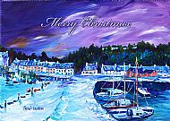 A5 Winter's Embrace Christmas Card