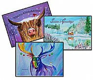 Christmas Card Pack X 6