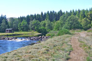 novar fishings, river alness, beat 2 access path