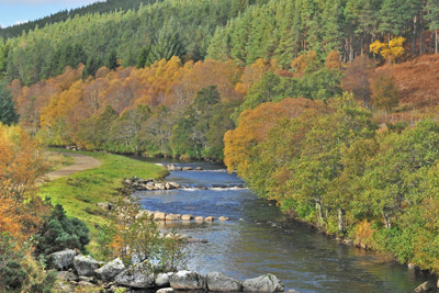 salmon fishing on the novar fishings, river alness or river averon, ross-shire