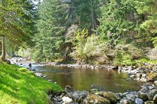 novar fishings, river alness, beat 1 kinloch bridge