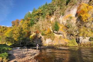 novar fishings, river alness, beat 4 raven's rock