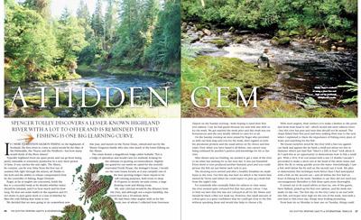 novar fishings, river alness, scottish sporting gazette feature