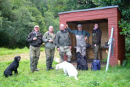 novar fishings, river alness, beat 5 aggie's bridge fishing shelter