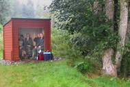 novar fishings, river alness, beat 3 parks fishing shelter