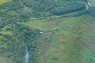 novar fishings, river alness, aerial photo beat 2