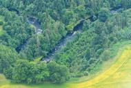 novar fishings, river alness, aerial photo beat 4