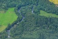 novar fishings, river alness, aerial photo beat 6