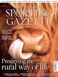 scottish sporting gazette 2015 cover