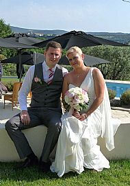 Sue & Pete. June 2013