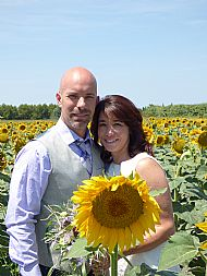 Marci & Richard. July 2015 Villa Velleron