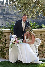 Emily & Sean June 2015 Bastide de Gordes
