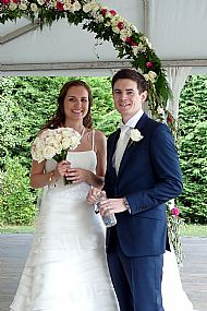 Paula & Richard. July 2014 Domaine Gayda