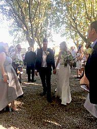 Emma & Carl August 2017 Chateau Beaumetane