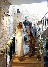 Hannah & Ed. September 2017 Chateau de Puissentut