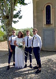 Kelly & John August 2018 Chateau Canet