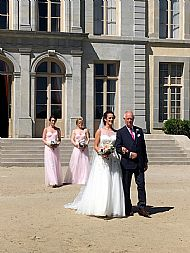 Maddy & Declan Chateau de Pennautier June 2019