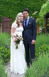 Susannah & Robert.  May 2013 Domaine Gayda