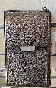 GREY SILVER SMALL BAG/PURSE