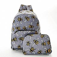 BEE MINI BACKPACK GREY