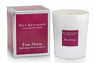 Pink Pepper Luxury Candle