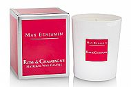 Rose & Champagne Luxury Candle