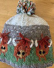 Highland Cow Beanie Hat