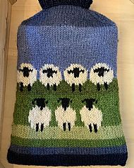 Sheep Hot Water Bottle & Cover