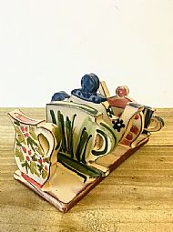 Tea set toast rack