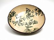 Medium frog serving bowl