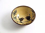 Bird pair bowl