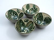 Leafy bowls
