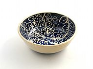 straight sided leafy tendrils bowl