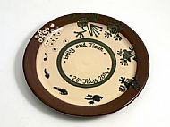Metamorphosis wedding plate
