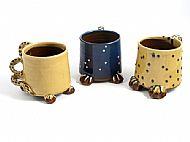 Straight creature mugs