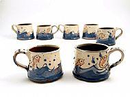 Small fish mugs