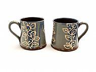 Leafy mugs straight medium