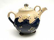 Seaside teapot