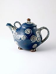 Spirals teapot