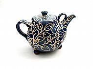 Leafy tendrils teapot