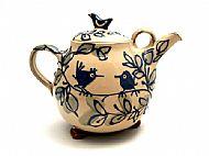 Bird pair teapot
