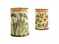 Jar with cork lid