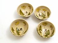 small bowl (dandelion)