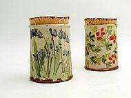 jars with cork lids