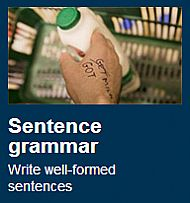sentence grammar for teenagers/adults