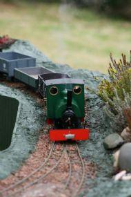 Steam hauled freight